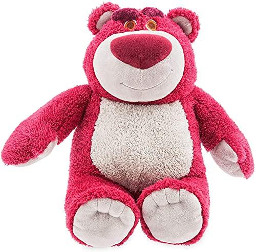 LOVEMLQL Store Lotso Medium Soft Plush Toy - Toy Story con Detalles Bordados y Relleno con Dulce Aroma a Fresa