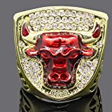 Fan Collection Souvenirring, Chicago 1993 Bulls Jordans Championship Replica Ring 9#