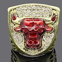 ファンコレクションお土産のリング、シカゴ1993ブルズヨルダン選手権レプリカリング 10#