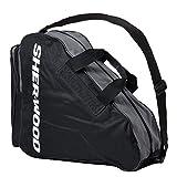 SHER-WOOD - Schlittschuhtasche mit Henkeln I Inliner-Tasche I Eishockey-Bag mit Reisverschluss &...