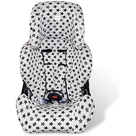 Fundas BCN ® - F127/9399 - Funda para silla de coche Klippan Kiss ® 2 - Fun Black Star