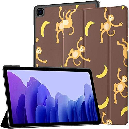 Funda para Tableta Samsung A7 Monkeys Symbol 2016 Funda para Samsung Galaxy Tab A7 10,4 Pulgadas Funda Protectora de liberación 2020 Funda Samsung Galaxy A7 Funda para Tableta Funda de Cuero PU