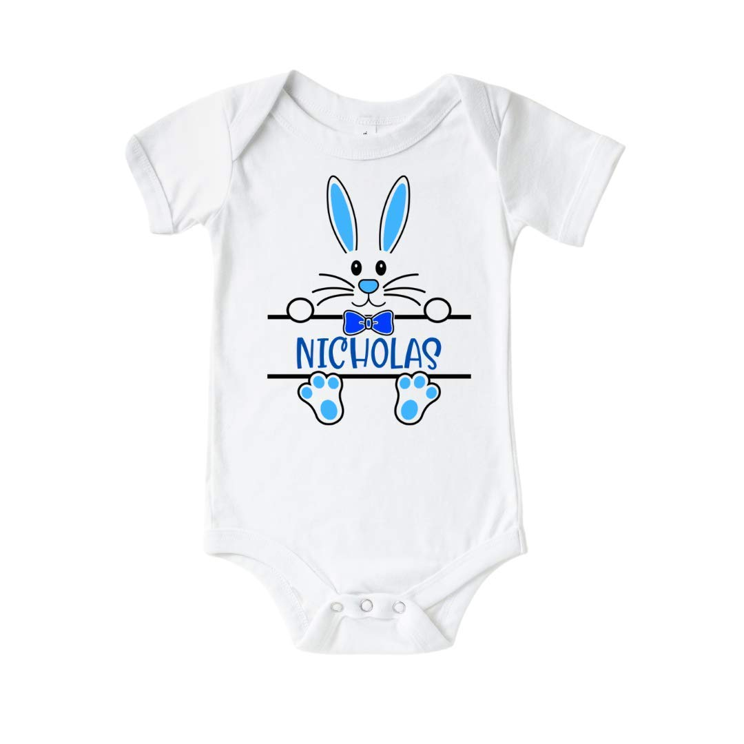 Easter Bunny Surprise price Baby Boy Genuine Onesie. Outfit Personalized f First easter