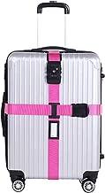Enterest Luggage Band Cross Luggage Straps TSA Approved