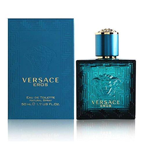 Versace Eros Eau De Toilette Spray 50ml