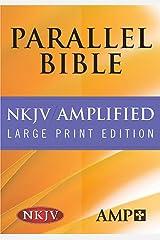 NKJV Amplified Parallel Bible Hardcover