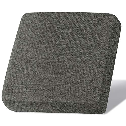 Linen Couch Cushion Covers, Sofa Cover Sofa Furniture Protector Slipcover with Bottom Velcro, Soft Non-Slip Non-Wrinkle Non-Sticky Suitable for Chair Bench Settee Seat Loveseat(Gray,1 Pieces) -  Naturoom