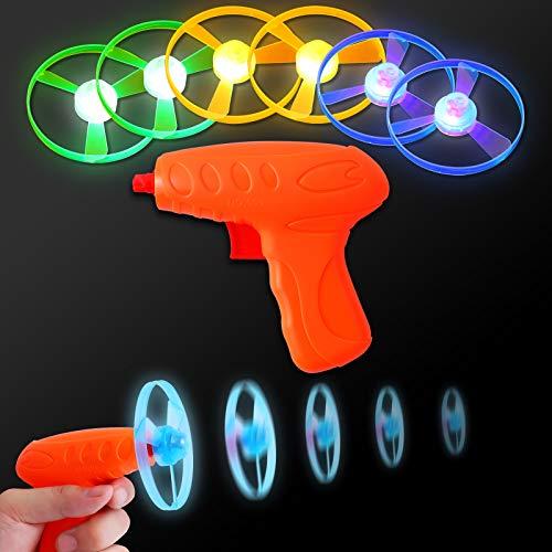 FORMIZON Favores de Fiesta para Niños, 2 Piezas Juguete Volador Luminoso para Niños, Niñas Brillo en la Oscuridad Regalos de Cumpleaños para Fiestas Favores