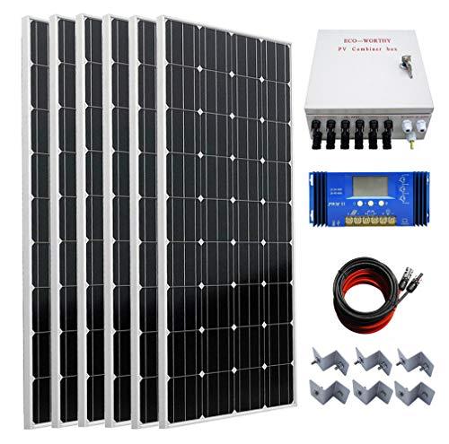Eco-Worthy 1000W Off Grid Home Solar System