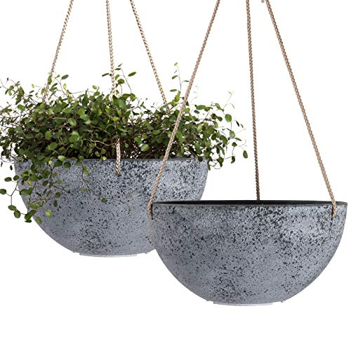Hanging plant pots for the greenthumb