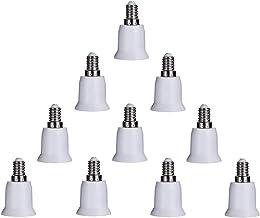 10 قطع E14 إلى E26 E27 محول قاعدة مصباح محول مأخذ ضوء مقبس E12 إلى مقبس متوسط E26 E27 محول
