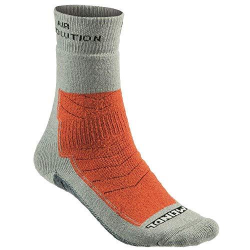 Meindl Air Revolution Pro Socken, grau/orange, 40 bis 43