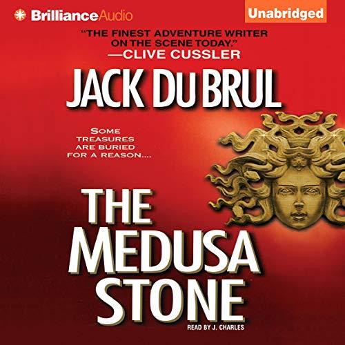 The Medusa Stone audiobook cover art