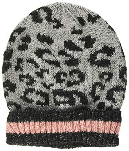 Dorothy Perkins Dames Luipaard Lurex hoed. Zonnehoed, Grijs (Licht Grijs 619), (Maat: Een)