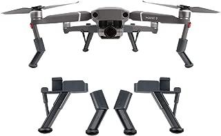 Fstop Labs Accessories for DJI Mavic 2 Pro, Zoom Landing Gear Legs Height Extender Kit Riser Set Stabilizers