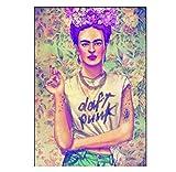 Frida Kahlo Poster Drucken Mit Art Definition in Spanisch