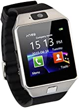 AMGUR Smart Watch for Android Phones Touchscreen Bluetooth Smartwatch with SIM SD Card..