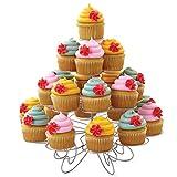 Wilton cupcakes 'N More Cupcake-Ständer, Dessert-Ständer 4 Etagen