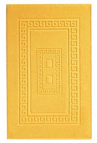 Alfombras de baño amarilla (45X60 cm)