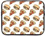 Pizza Food Funda para Tableta Funda para portátil Funda de Viaje Funda para Ordenador de 15 ″ Maletín de Negocios para Ordenador portátil Messenger Work