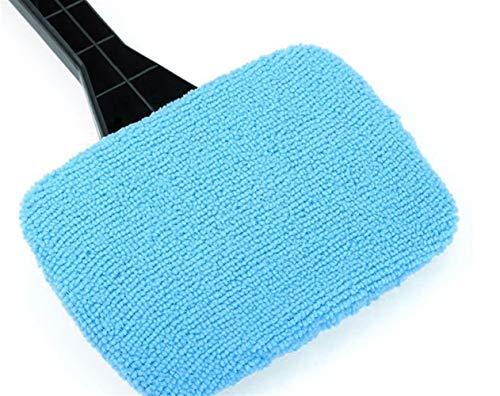 Preisvergleich Produktbild Soehong 1 Stücke Abnehmbare 13 Zoll Fensterbürste Mikrofaser Wischerreiniger Reinigungsbürste Mit Tuch Pad Auto Auto Reiniger Reinigungswerkzeug Pinsel Manual (Color : Blue)