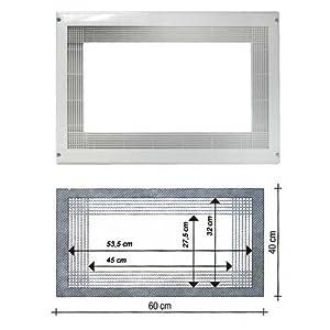 Fagor ME4-23 X - Kit marco de encastre para Microondas, Acero ...