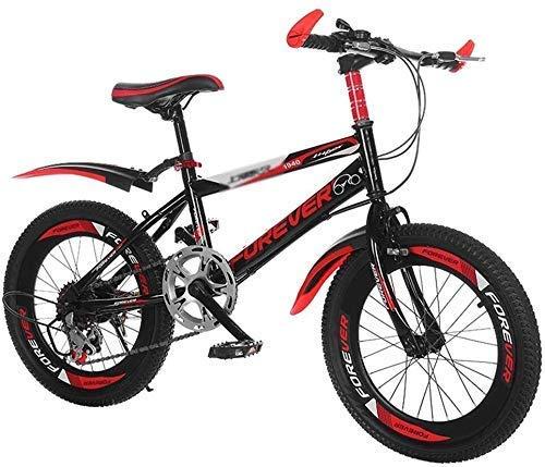 Bicicletas de montaña Bicicletas de montaña de adulto al aire libre de la bici Sin Escala velocidad de bicicletas Estudiantes Recorrido de la bicicleta al aire libre adecuados (Color: Naranja, tamaño: