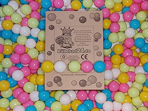 100 bolas de plástico bio para piscina de bolas de caña de...