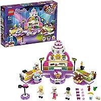 LEGO Friends - Concurso de Repostería, Juguete de Construcción, Programa de Televisión de Comida: Pasteles y Dulces, Incluye Jueza y Trofeo, a Partir de 6 Años (41393)