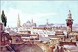 Poster 91 x 61 cm: Ansicht von Damaskus von Charles