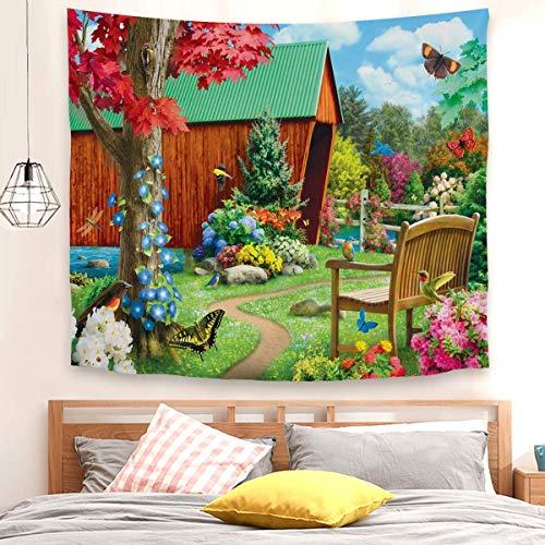 Tapiz de puente de la esperanza para colgar en la pared, decoración para dormitorio, sala de estar (150 x 200 cm)