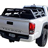 Hooke Road Tacoma High Bed Rack Truck Cargo Carrier Compatible with Toyota Tacoma 2005 - 2021 2nd 3rd Gen