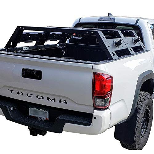 Hooke Road Tacoma High Bed Rack Truck Cargo Carrier for 2005-2020 2nd 3rd Gen Tacoma