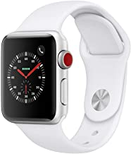 Apple Watch Series 3 (GPS + Cellular, 38mm) - Silver...