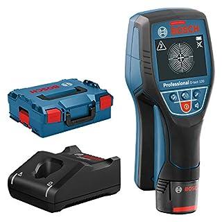 Bosch Professional 12V System Rilevatore D-tect 120 (1 batt. 12V, rilevamento max. tubi in plastica/sottostrutture/cavi sotto tensione/metalli magnetici/ non magnetici: 60/38/60/120/120 mm, L-BOXX) (B00N2CLC96) | Amazon price tracker / tracking, Amazon price history charts, Amazon price watches, Amazon price drop alerts