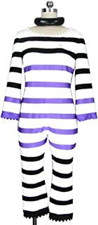 Detentionhouse Nanbaka Nanba Prison Jyugo Outfit Anime Cosplay Costume S002