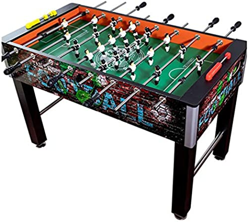 Foosball Soccer Competition Table Top Set Game Room Sports mit Legs und 8 Clubs