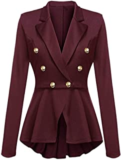 Suit Ladies Elegant Formal Business Office Slim Fit Blazer Jacket Clothing Exquisite Fashion Lapel Longsleeve Swallowtail ...