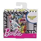 OTTO pour Barbie - Habit pour Poupee Mannequin - Debardeur Wonder Woman Multicolore - Vetement - Tenue Top DC - Super Heros Fille