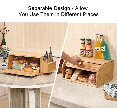 A suitable kitchen counter storage idea enables you to keep your stuff organized and make cleaning easy. It also makes the stuff easily accessible, and keeping the different types of things within reach also becomes possible