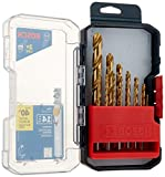 bosch products - Bosch TI14 Titanium Metal Drill Bit Set (14 Piece)