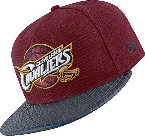 NEW ERA CAPPELLO 59FIFTY NBA CLEVELAND CAVALIERS BORDEAUX-7
