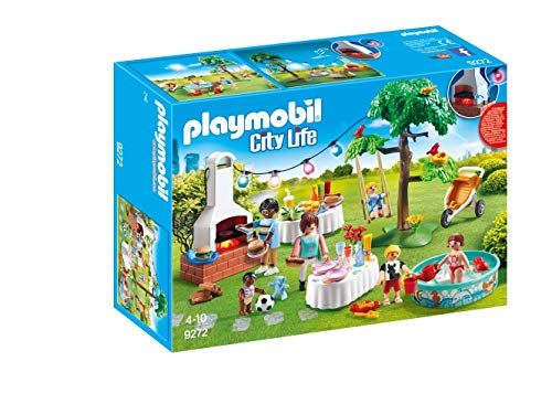 Playmobil City Life - Famille et barbecue estival