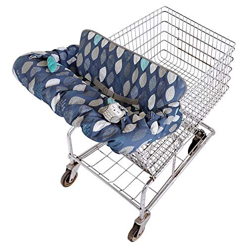Eddie Bauer Reversible Cart and High Chair Cover Blue