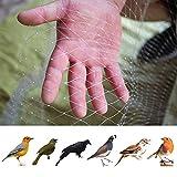 JYCRA Rete per Uccelli, 4 m x 10 m, in Nylon, Anti Uccelli, per stagni, Piante e Frutta, per Animali Domestici, roditori, Uccelli