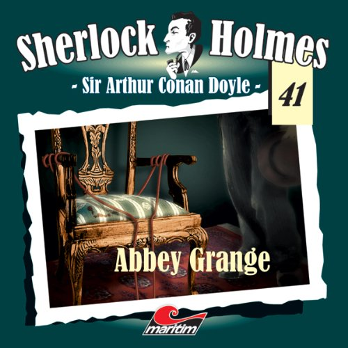 Abbey Grange audiobook cover art