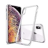 Trop Saint Funda para iPhone X y iPhone XS – Suave Silicona [antigolpes ] Carcasa Transparente Protectora – Slim
