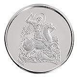 Conmemorativo Moneda Religiosa Medalla de plata San Jorge 16 mm 3.0 g 1/10 oz