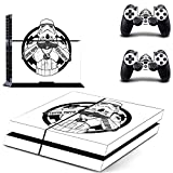 Star War Decal PS4 Skin Sticker for Playstation 4 Console Protection Film +2Pcs Controllers Cover-DPTM0773