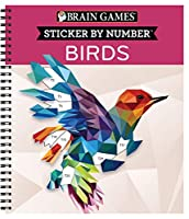 Brain Games - Sticker by Number: Birds (28 Images)